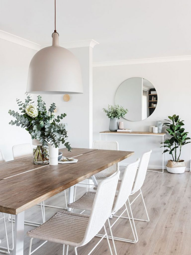 Professional Organizing & Styling eettafel